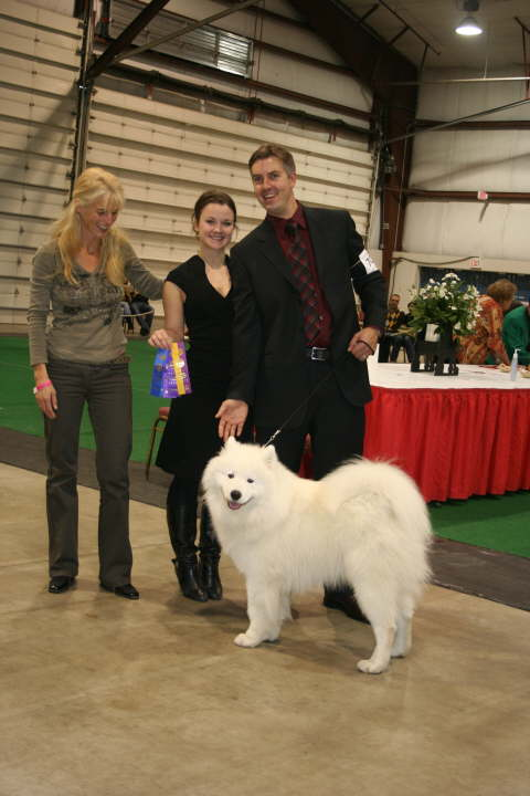 Casanova (called Buddha) and onwer and handler Robin did quite well and Casonva won